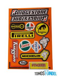Stickerset Bridgestone
