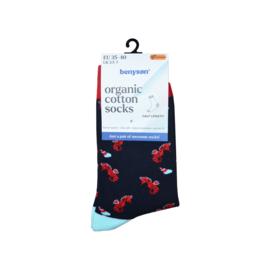 BENYSØN® Organisch katoenen sokken - 4- pack
