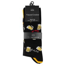 Vincent Creation ® sokken - Bier & Pretzels - 3-pack