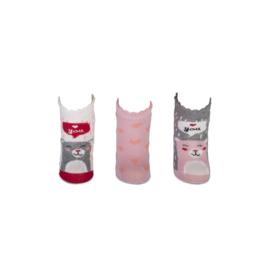 Babysokken - Love you - 3-pack