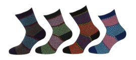 Cosy Wool Socks - damessokken - 4-pack