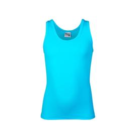 Beeren jongens singlet/ hemd  ronde hals - Davy - aqua- 3-pack