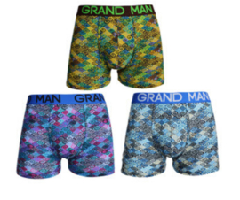 Grand Man boxershort - 3-pack - Kringeltje