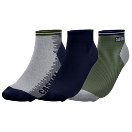 "Twinday  herensneakersokken ""casual"" - 3-pack"