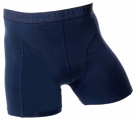 Fun2wear boxershort uni - marineblauw