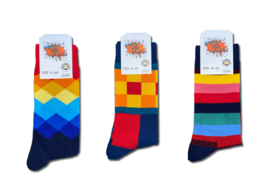 Dutch Pop Socks - kleurig - 3-pack