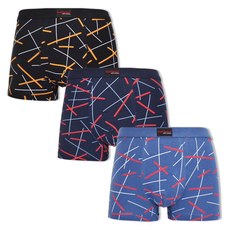 Gianvaglia boxershort - 3-pack - Stripes