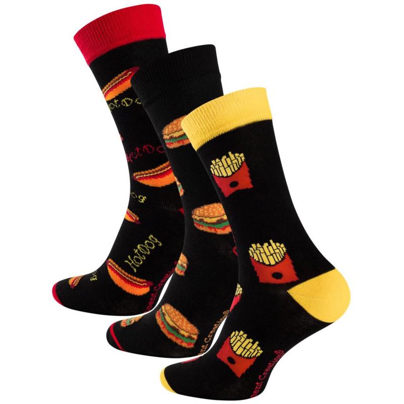 Vincent Creation ® sokken - Fast Food - 3-pack
