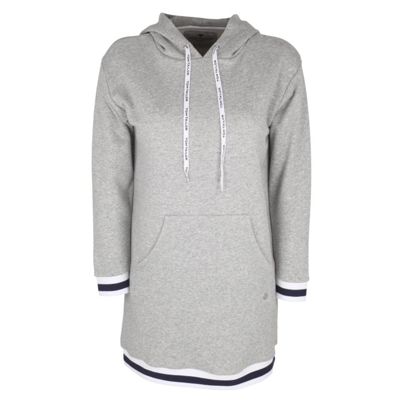 TOM TAILOR Hooded Sweat Dress / Hoodie Dress