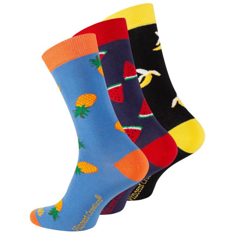 Vincent Creation ® sokken - Fruit - 3-pack