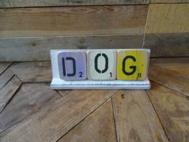 Plankje voor 3 letters