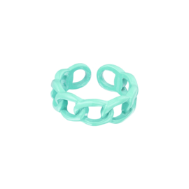 """Ring """"Color"""" Green"""