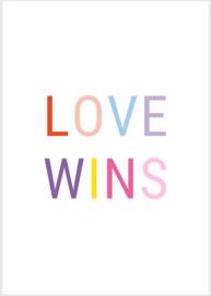 Kaart - Love wins