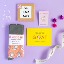 Kant en klare cadeaubox voor geitenlovers