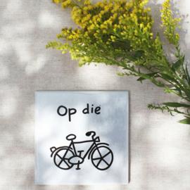 Tegel - Op die fiets