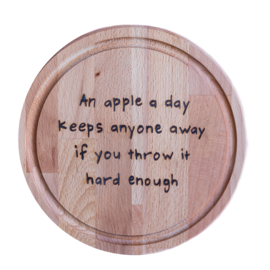 Snijplank - An apple a day