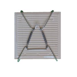 Metalen tegelhanger mini - geschikt voor tegels van 10 cm x 10 cm en 10 cm x 20 cm