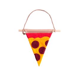 Muurvlag - Pizzapunt