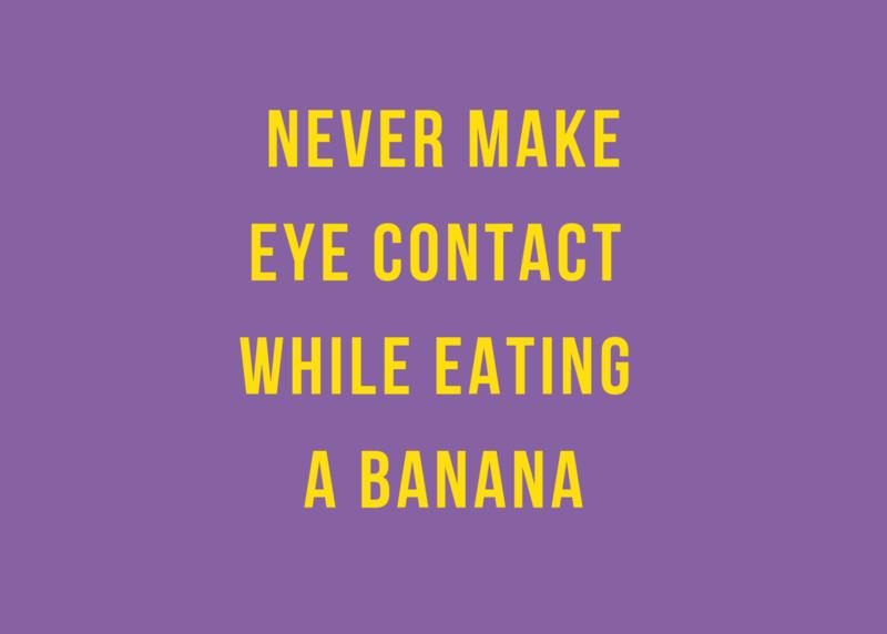 Kaart - Never make eye contact