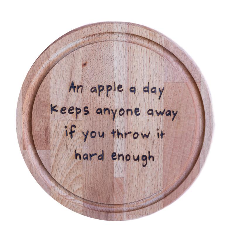 Snijplank - An apple a day
