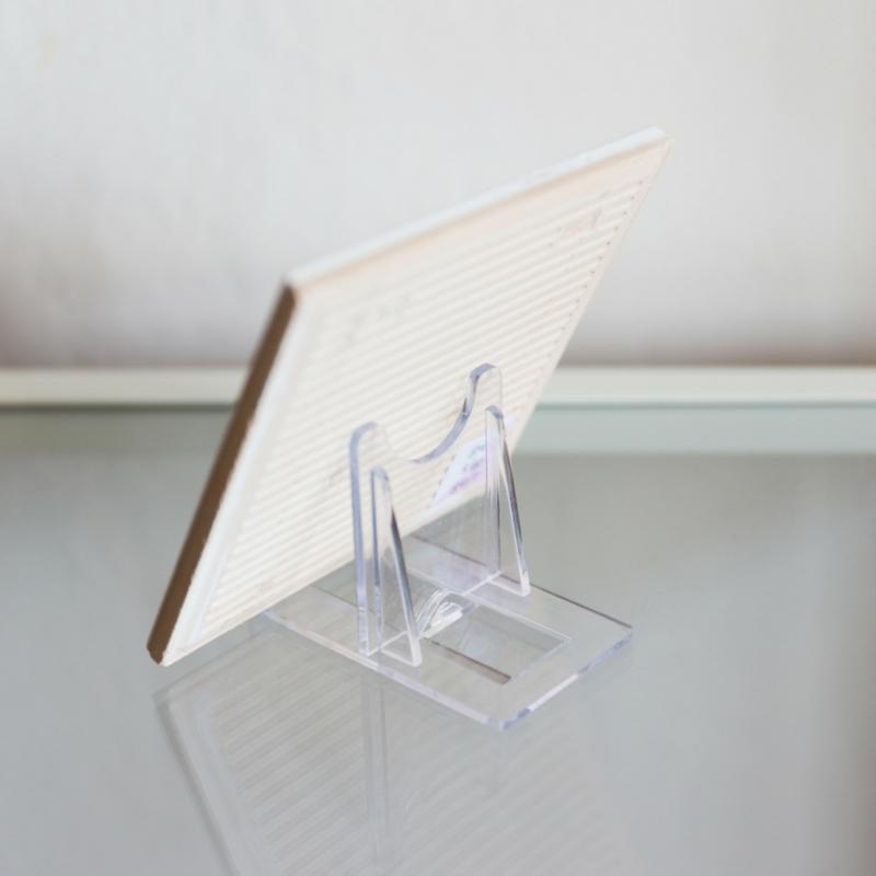 Transparante tegelstandaard - Geschikt voor alle formaten tegels