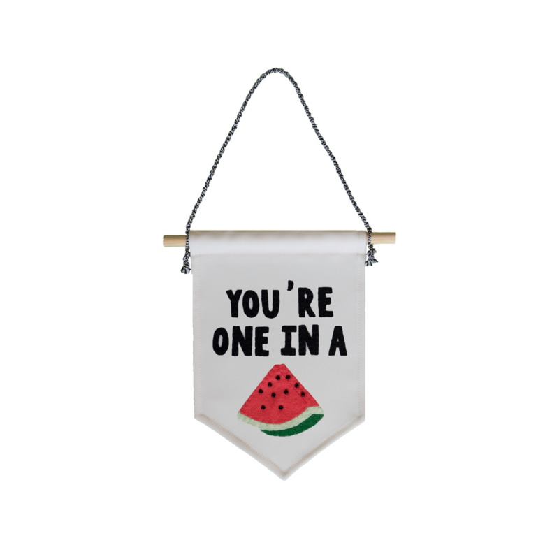 Muurvlag - You're one in a melon