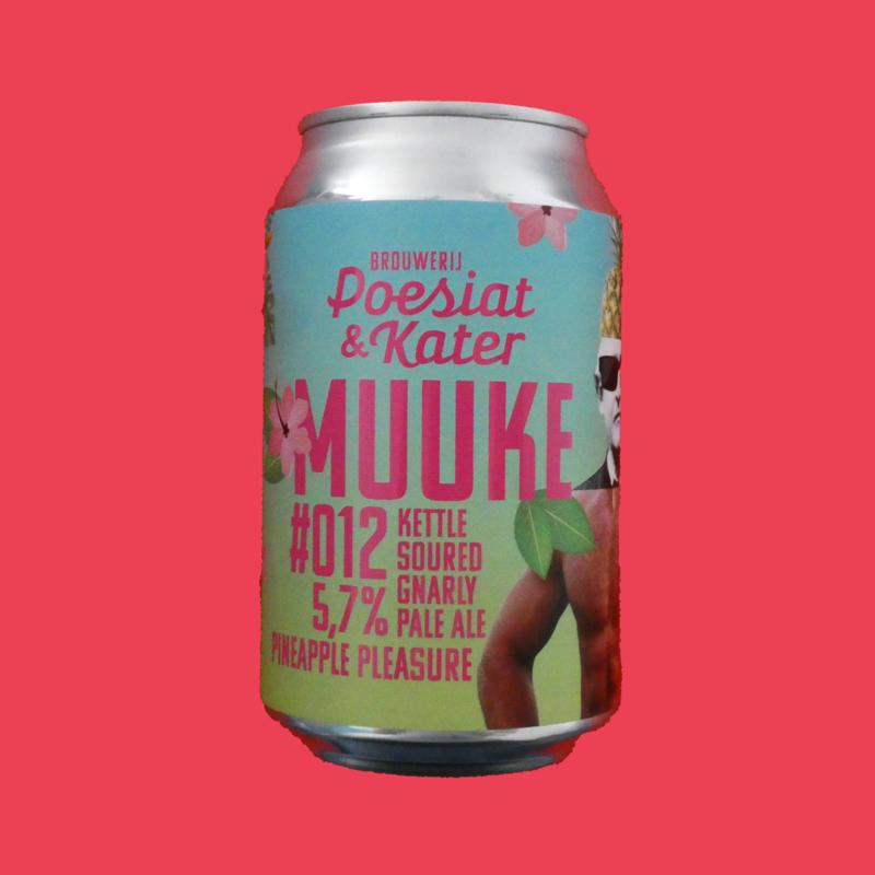 Muuke 012: Pineapple Pleasure Kettle Sour Gnarly Pale Ale