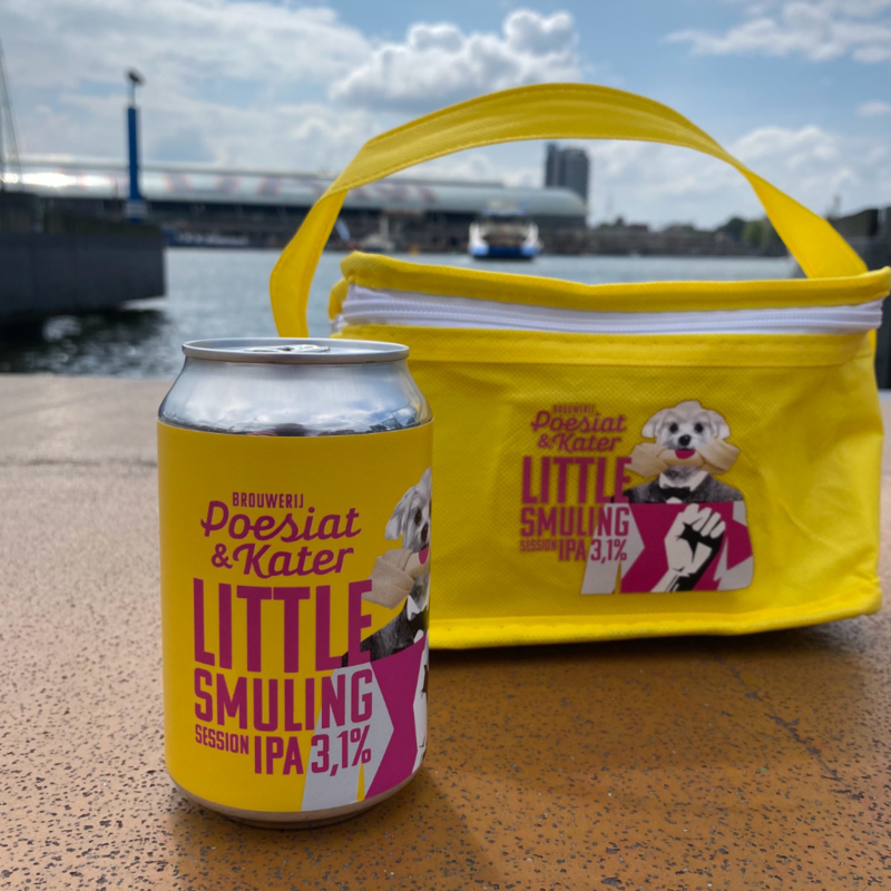 """Little Smulling """"Doggy pack"""" Koeltas 6 pack"""