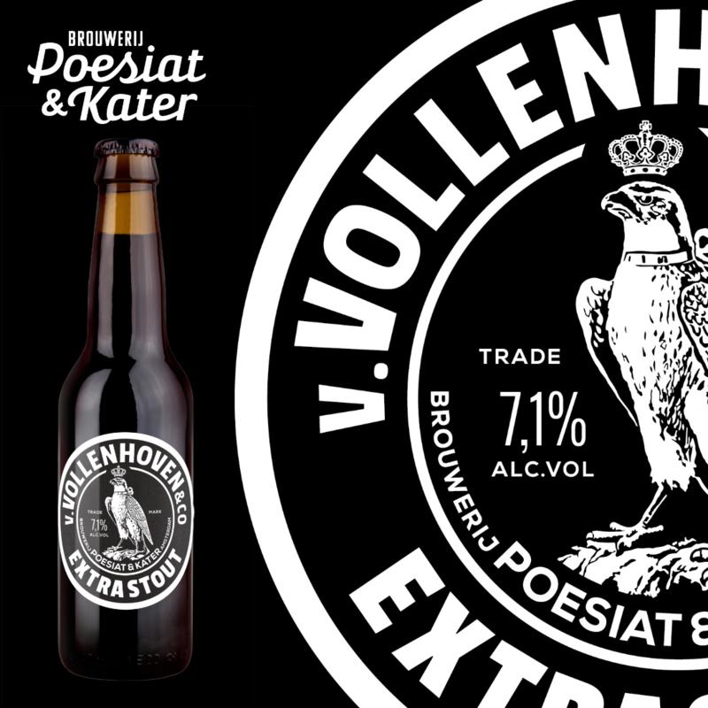 v.Vollenhoven&co Extra Stout 24x0,33cl bottles
