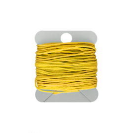 Macramé koord 0.8 mm yellow
