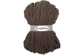 Lovely Cottons 9 mm gevlochten mocha