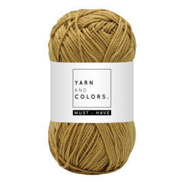 Yarn and color must-have gold