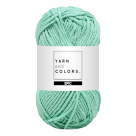Yarn and colors epic green ice