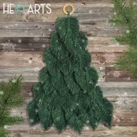Kerstboom Misty(wandhanger)
