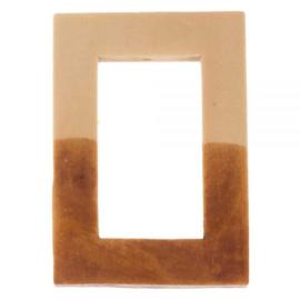 Houten rechthoek