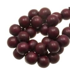 Houten kraal  cherry 12 mm