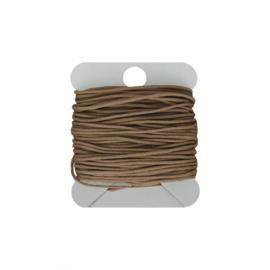 Macramé koord 0.8 mm camel