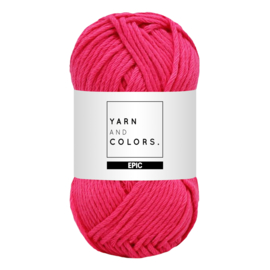 Yarn and colors epic deep cerise