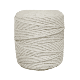 Single twine 3 mm natural