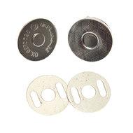 Magneetsluiting zilver 14 mm