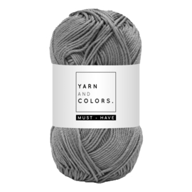 Yarn and color must-have shark grey