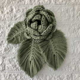 Patroon wandhanger rose(gratis bij materiaal)