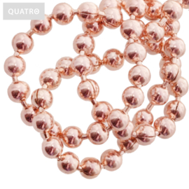 Bolletjesketting 2.4 mm rosé goud