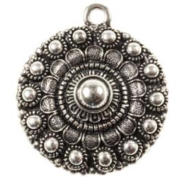 Antiek zilver 39 mm
