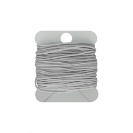 Macramé koord 0.8 mm light grey