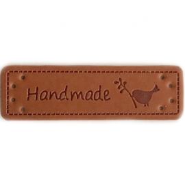 Label Handmade vogeltje