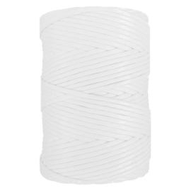 Hearts single twist 8 mm white (200m)