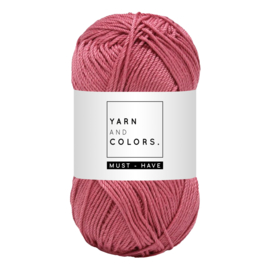 Yarn and color must-have antique pink