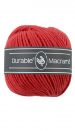 Durable Macrame 2 mm red