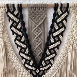 Patroon Brazilian Knot wandhanger(gratis bij materiaal)
